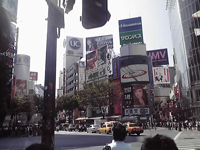 久々の渋谷